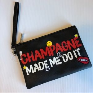Express Champagne Clutch